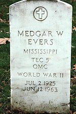 Medgar W. Evers  Arlington National Cemetery , VA