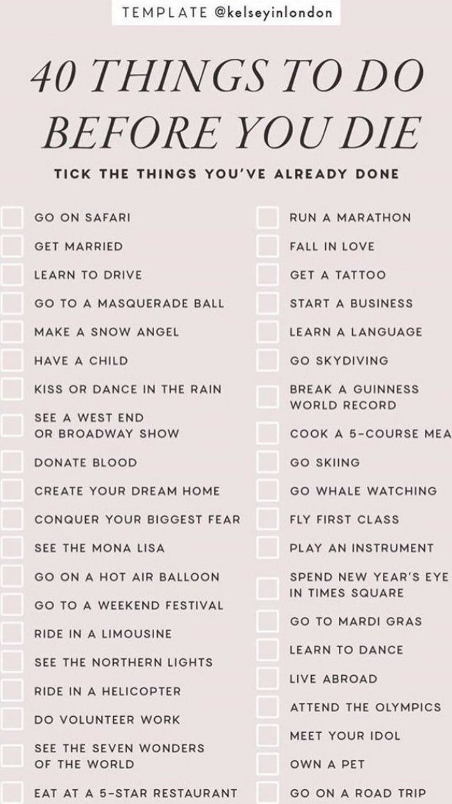 40 Things To Do Before You Die Instagram Story Template By Kelseyinlondon Instastory Storytemp In Story Template Instagram Story Template Learning To Drive