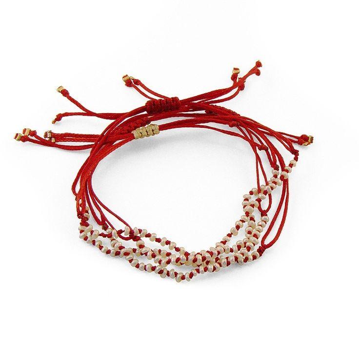 Rosario Pearl Bracelet - Adorable Adornments