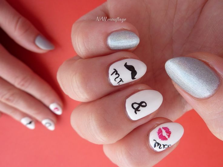 Mr&Mrs nails