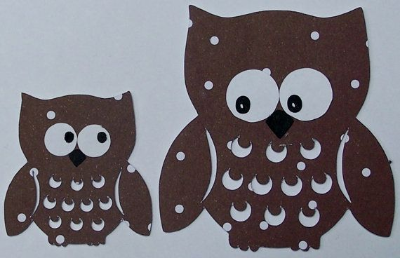 Owl Cutting File for Silhouette Cameo or by EliteHandmadeCards, £1.25
