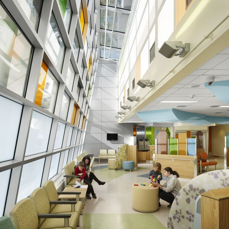 """McMaster Children's Hospital (""""MCH"""") by Parkin Architects"""