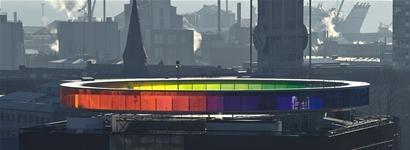 Your Rainbow Panorama, by Olafur Eliasson