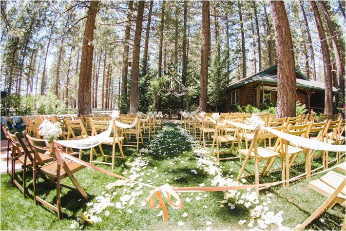 Big Bear Forest Wedding at the Inn At Fawnskin from Ashley Durham Studios | Southern California Bride