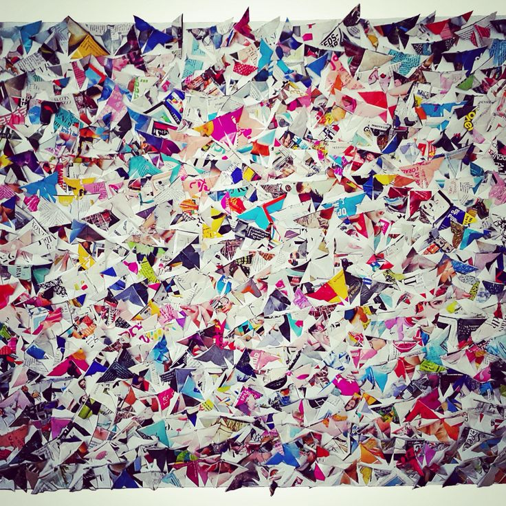 butterflies made out of old woman magazines