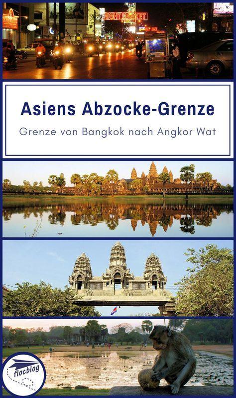 Der Grenzübergang Poipet auf dem Landweg zwischen Bangkok und Angkor Wat (Siem Reap) macht regelmäßig Schlagzeilen als schlimmste Grenzübergang-Abzocke in Asien. Berechtigt oder nicht? #Thailand #Kambodscha #Angkorwat #Bangkok #Backpacking #Rucksackreise #Weltreise #Asien #Reisetipps #Grenze #Betrug #Abzocke #Scam #Südostasien #Reisetipps