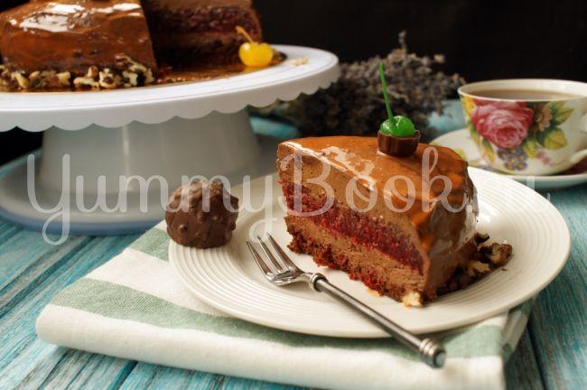Муссовый торт Вишня с шоколадом