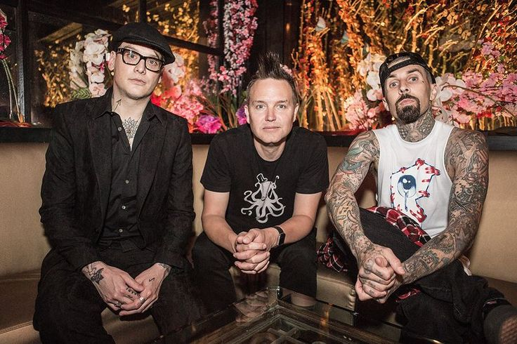 "Matt Skiba, Mark Hoppus and Travis Barker - Interview with Fuse on Blink 182's ""California"" and tour"