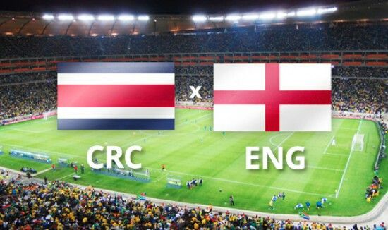 Costa arica VS Inglaterra.