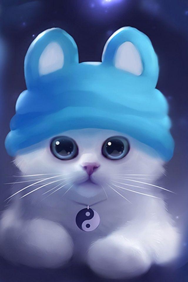 Cats Artwork Mobile Wallpaper