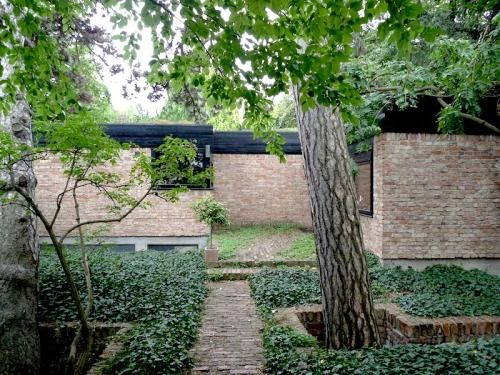 House (1965-66) built for himself in Vienna, Austria, by Roland Rainer