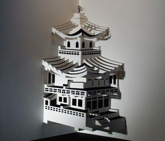 Paper Architecture #art #paper #papercut