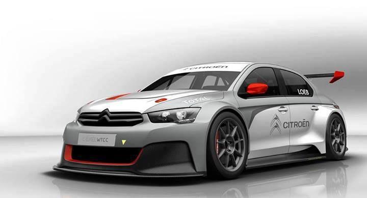 Loeb's new Citroen C-Elysee WTCC racer