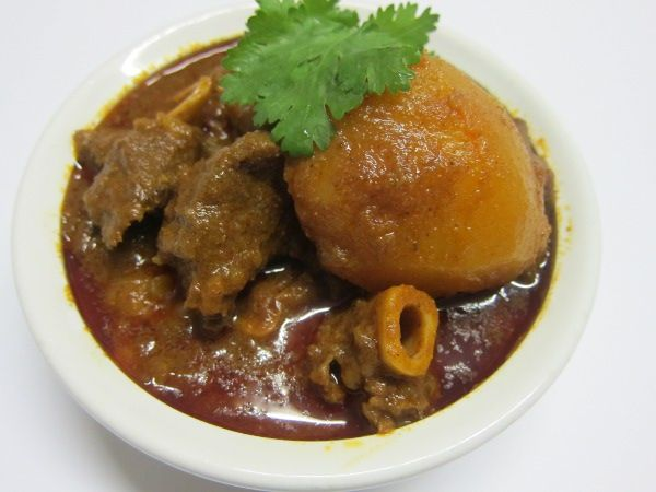 Durban Style Mutton Curry