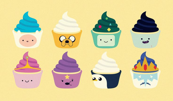 So #cute! Which one would you eat?