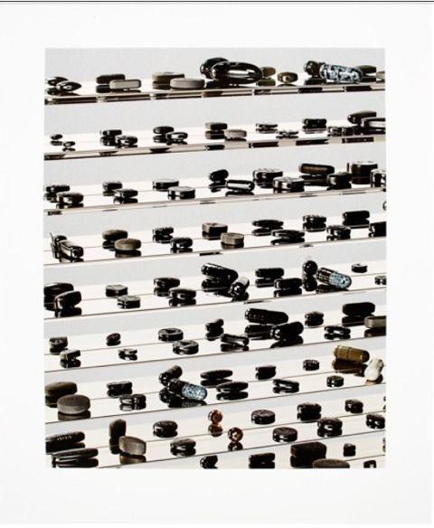 Black Brilliant Utopia, 2014, by Damien Hirst