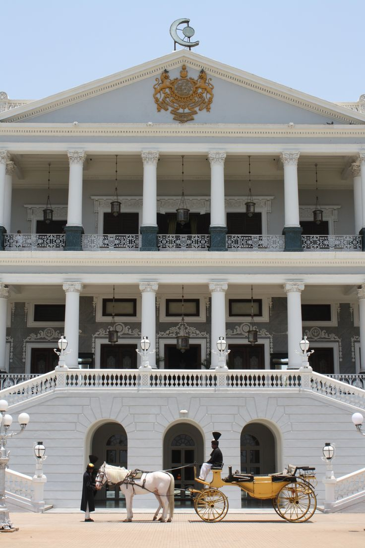 Falaknuma Palace is one of the finest palaces in Hyderabad, Telangana, India It is on a 32-acre (13 ha) area in Falaknuma, 5 km from Charminar.