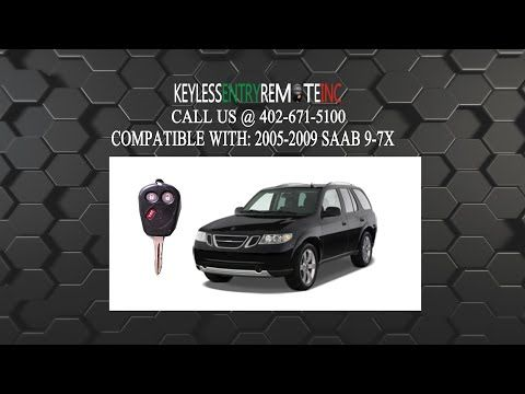 How To Change The Battery In A Saab 9 7X Key Fob Remote