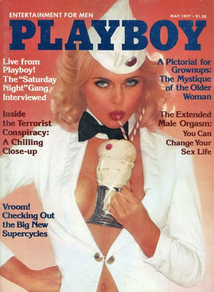 May 1977 Sheila Mullen Was Playboy Magazines Playmate -9872