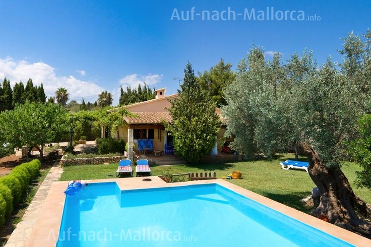 Spanien, Mallorca, schönes Ferienhaus für 6 Personen