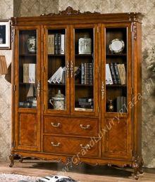 Drewniany czterodrzwiowy regał na książki 11A, serie BRUNO SALETTI. Szczegóły na: http://www.grandluxuryplaza.pl/Drewniany_czterodrzwiowy_regal_na_ksiazki_11A_serie_BRUNO_SALETTI-874.html