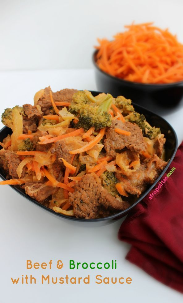 Easy Beef & Broccoli with Mustard Sauce Recipe