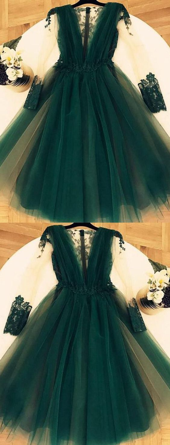 Short prom dress vneck prom dress prom dress long prom dress