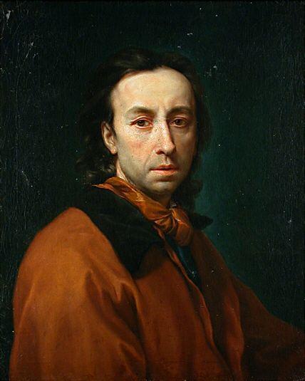 Raphael Mengs Selfportrait - Autoportrait — Wikipédia