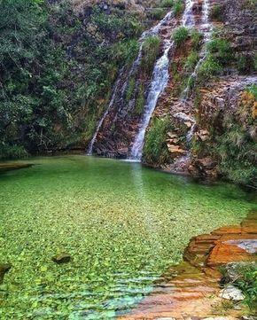 Lagoa Azul, em Capitólio, Minas Gerais!  #eucurtoobrasil