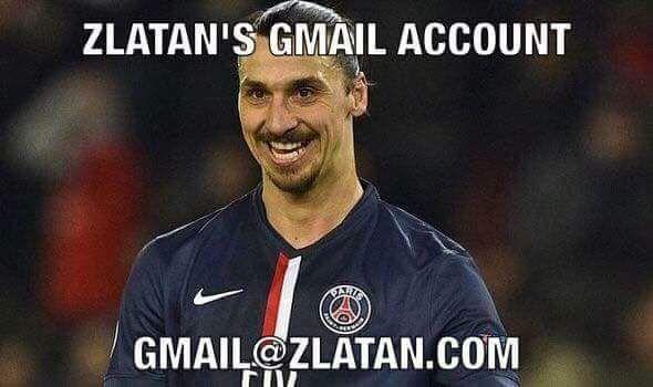 Contact Zlatan via email.....