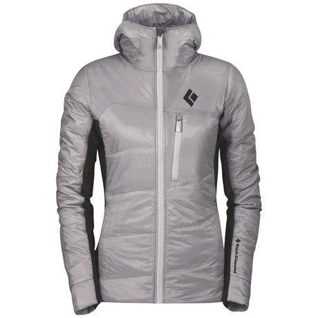 Black Diamond Equipment Access Hybrid Hooded Jacket - PrimaLoft® Silver (For Women))