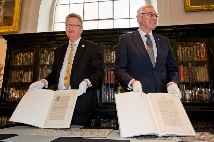 Two extraordinarily rare 17th century Spanish documents – considered the 'holy grail' of Australiana – were recently acquired by the Library and unveiled by NSW State Librarian Alex Byrne and Minister for the Arts, George Souris.