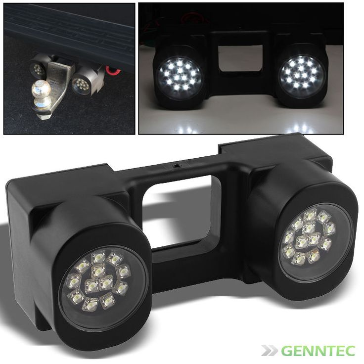 Trailer Truck Tow Hitch 24 Super Bright White Led Lights