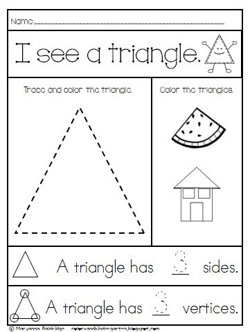 25+ best ideas about Shape activities kindergarten on Pinterest ...