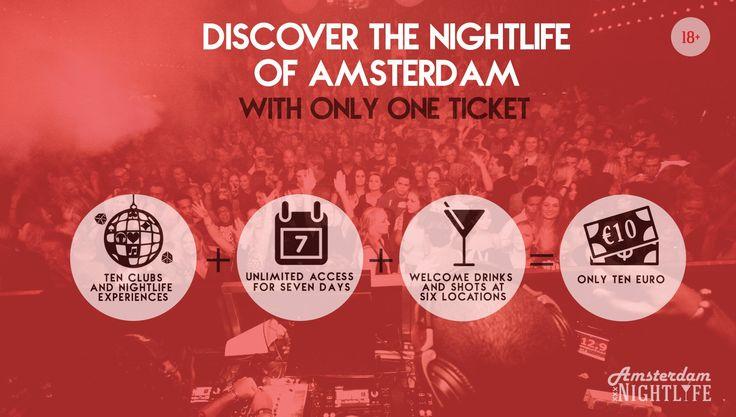 Amsterdam Nightlife Ticket