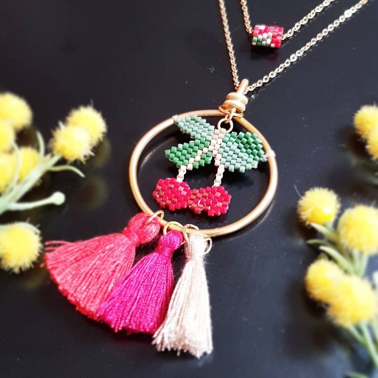 "61 Beğenme, 1 Yorum - Instagram'da Filo Handmade (@handmadefilo): ""Cherry cherry boom boom 🍒 ❤️ #kiraz #cherry #cherrynecklace #pendant #necklacecharm #charms…"""