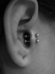 Double tragus! interesting