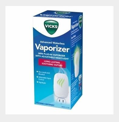 nice Vicks Soothing Vapors Plug-In Waterless Vaporizer - For Sale