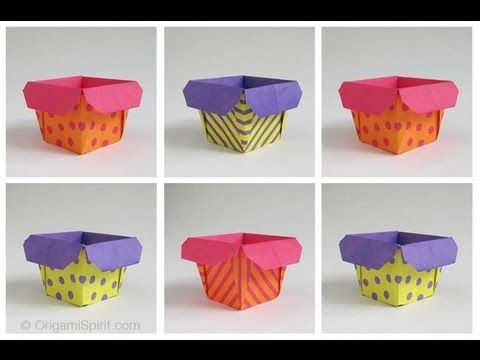 ORIGAMI SPIRIT Layla Torres | Origami Box -- Caja | Instructions: http://www.origamispirit.com/2012/06/warning-making-this-box-can-become-addictive/