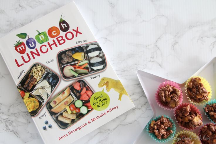 The Munch Lunchbox Cookbook reviewed by @alwaysmadewithlove