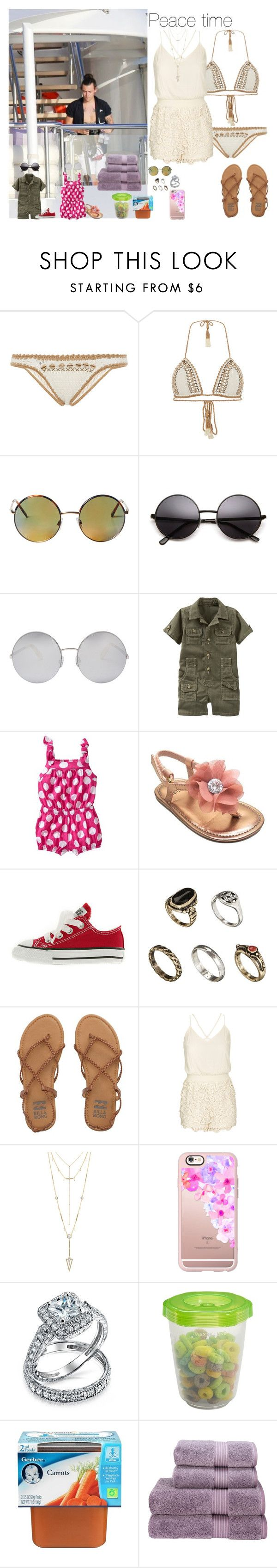 """Peace time"" by wiki0622 ❤ liked on Polyvore featuring SHE MADE ME, Monki, Victoria Beckham, Gap, Old Navy, Stuart Weitzman, Converse, ASOS, Billabong and City Chic"