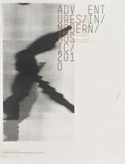 Adventures in Modern Music 2010 — Sonnenzimmer #layout #publication