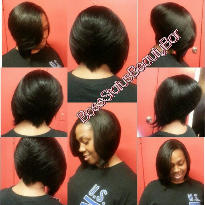 7 best bob cut hair styles images on pinterest accessories quick weave bob razor cut pmusecretfo Gallery