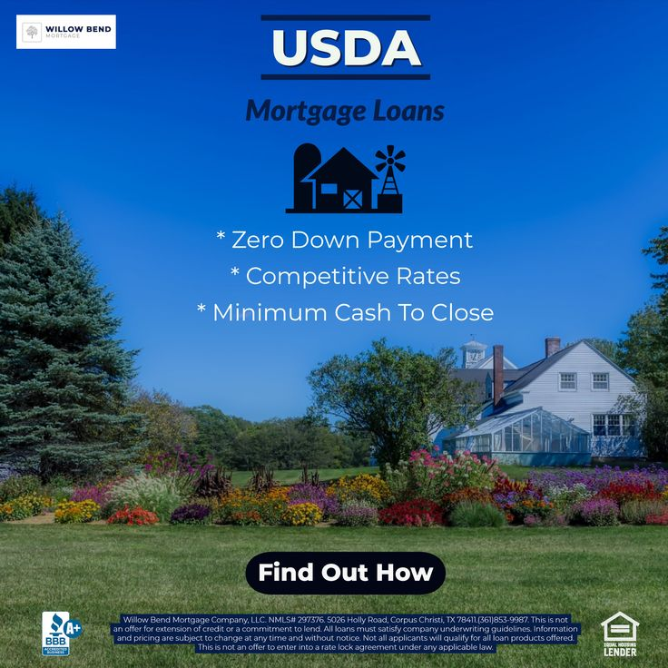 USDA mortgage loans you ask? Yeah we know... it sounds a