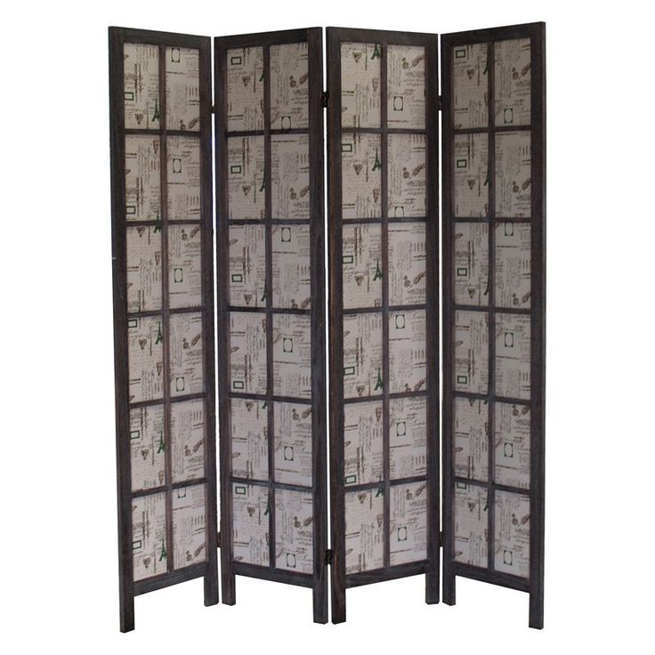 Proman Paris Folding Room Divider Screen - FS16774 - Best 25+ Folding Room Dividers Ideas On Pinterest Room Divider