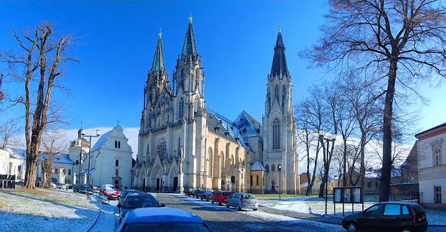 The magnificent Cathedral of Saint Wenceslas in Olomouc, #Czech Republic.