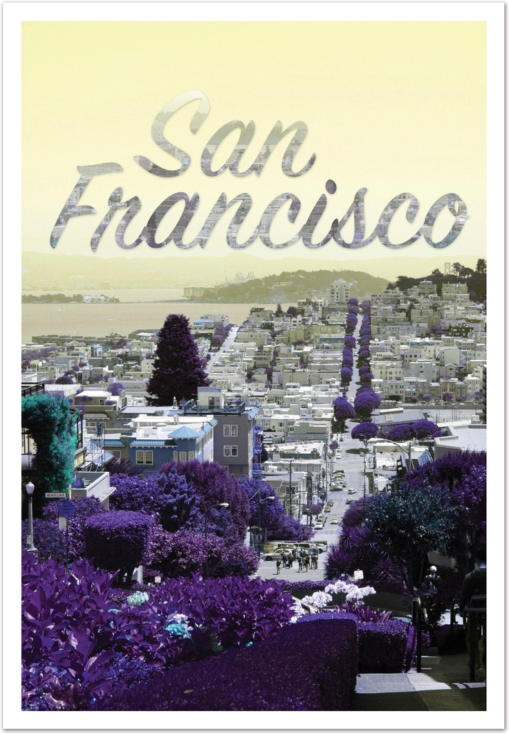 San Francisco Poster - from our California trip 2011