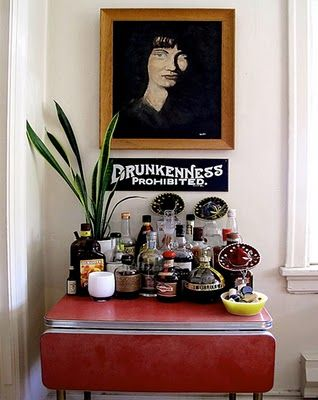 BarMinis Bar, Bar Tables, S'Mores Bar, Minibar Room, Bar Ideas, Home Bar, Bar Carts, Bar Signs, Lemon Bar