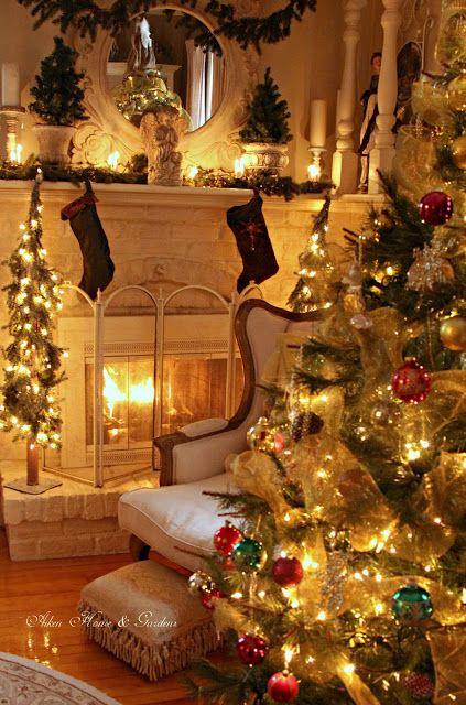 Aiken House & Gardens: Warm & Cozy Christmas