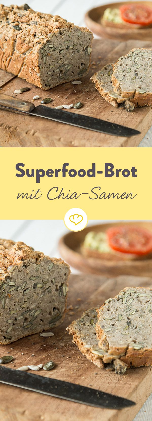 Glutenfreies Superfood-Brot mit Chia-Samen – Katja L.